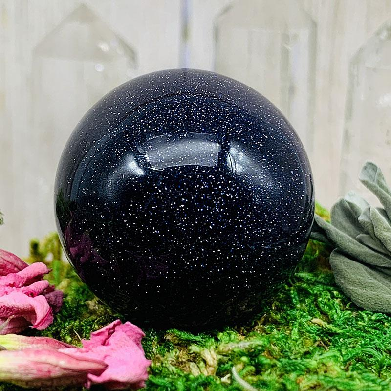 Crystal Ball - Blue Sandstone Crystal Ball