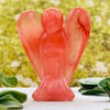Crystal Angels - Cherry Quartz Crystal Angel