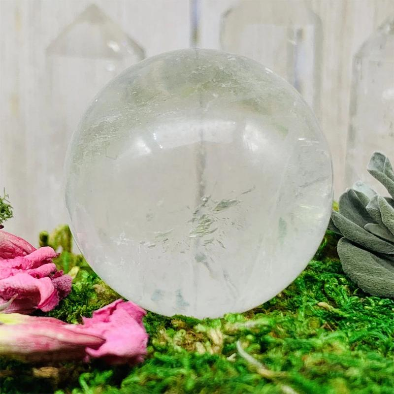 Crystal Ball - Clear Quartz Crystal Ball