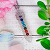 Clear Quartz Chakra Wand Necklace