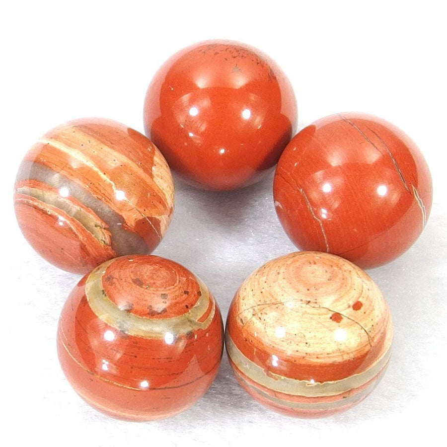 Crystal Ball - Red Jasper Crystal Ball
