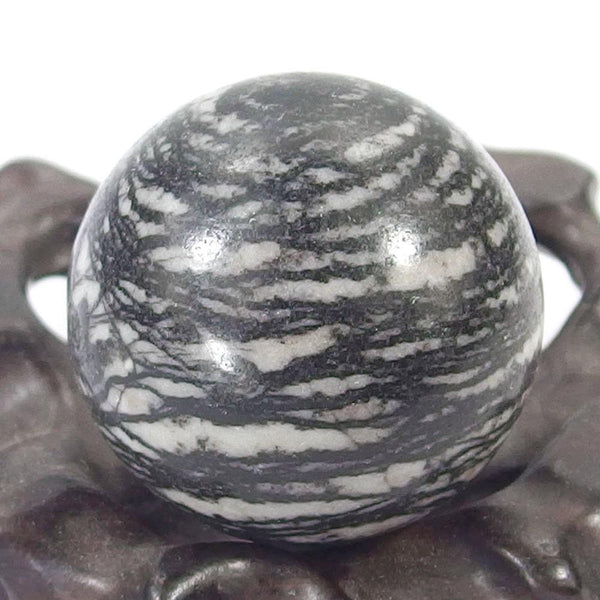 Spiderweb Jasper Healing Crystal Ball 30mm 40mm