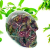 Crystal Skull - Dragon Blood Jasper Crystal Skull