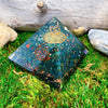 Dragon Blood Jasper Orgone Pyramid | Root Heart Chakra Reiki Healing