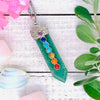 Green Aventurine Chakra Wand Necklace