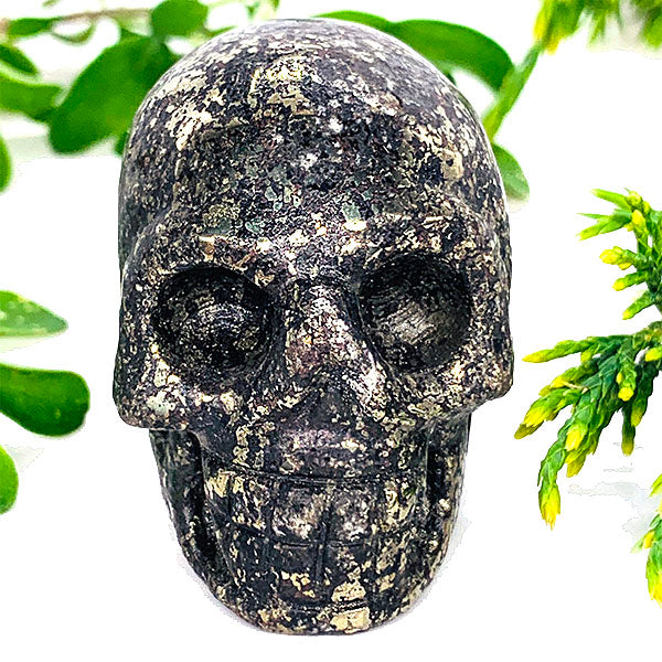 pyrite crystal skull meanings and benefits