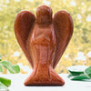 Crystal Angels - Red Sandstone Crystal Angel