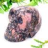Crystal Skull - Rhodonite Crystal Skull