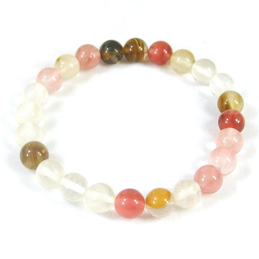 Cherry Quartz Beaded Bracelet
