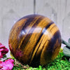 Crystal Ball - Tiger Eye Crystal Ball