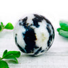 Crystal Ball - White Zebra Jasper Crystal Ball
