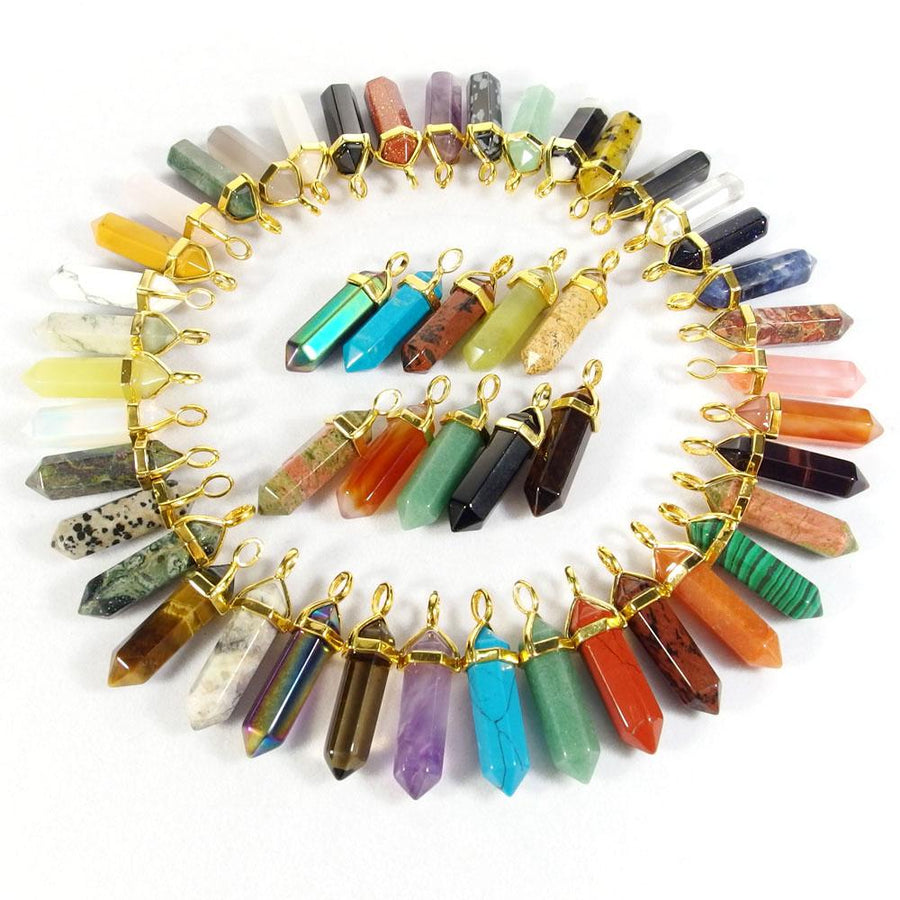 All Healing Gemstone Pendant Necklaces