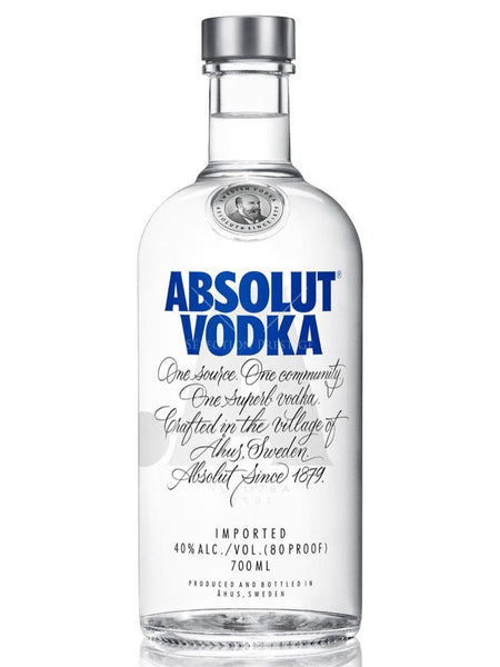 Absolut - Swedish Vodka 70cl