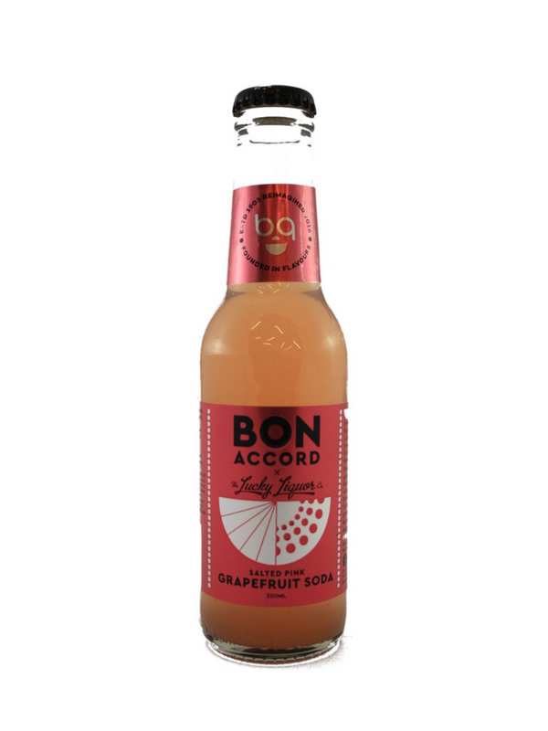 Bon Accord - Salted Pink Grapefruit Soda 200ml