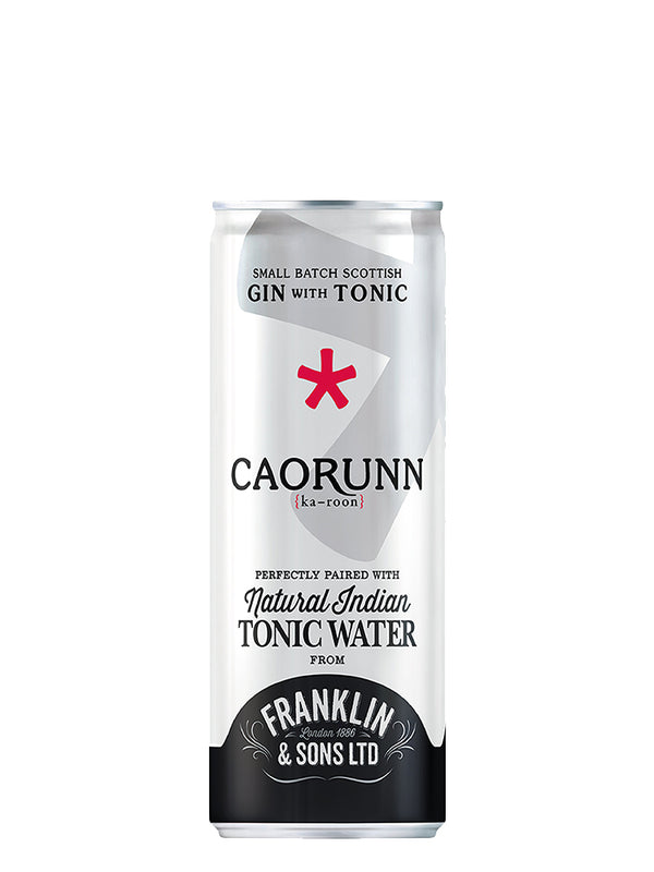 Caorunn & Franklin Sons - Tonic Can 250ml