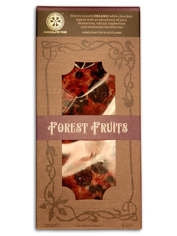 Chocolate Tree - White Forest Fruits 100g