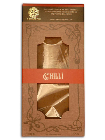 Chocolate Tree - Organic Milk Chocolate & Chilli 100g