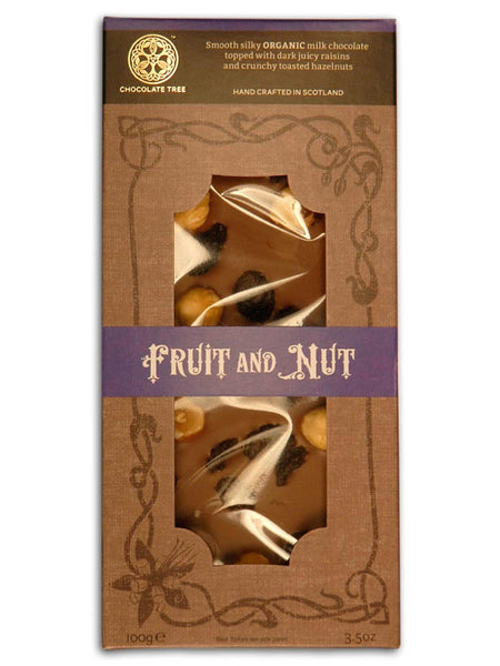 Chocolate Tree - Organic Milk Chocolate Fruit & Nut 100g