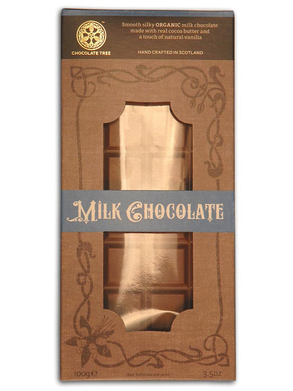 Chocolate Tree - Organic Milk Chocolate 100g