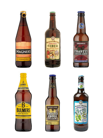 Punnet of Cider Combo - 8 Bottles