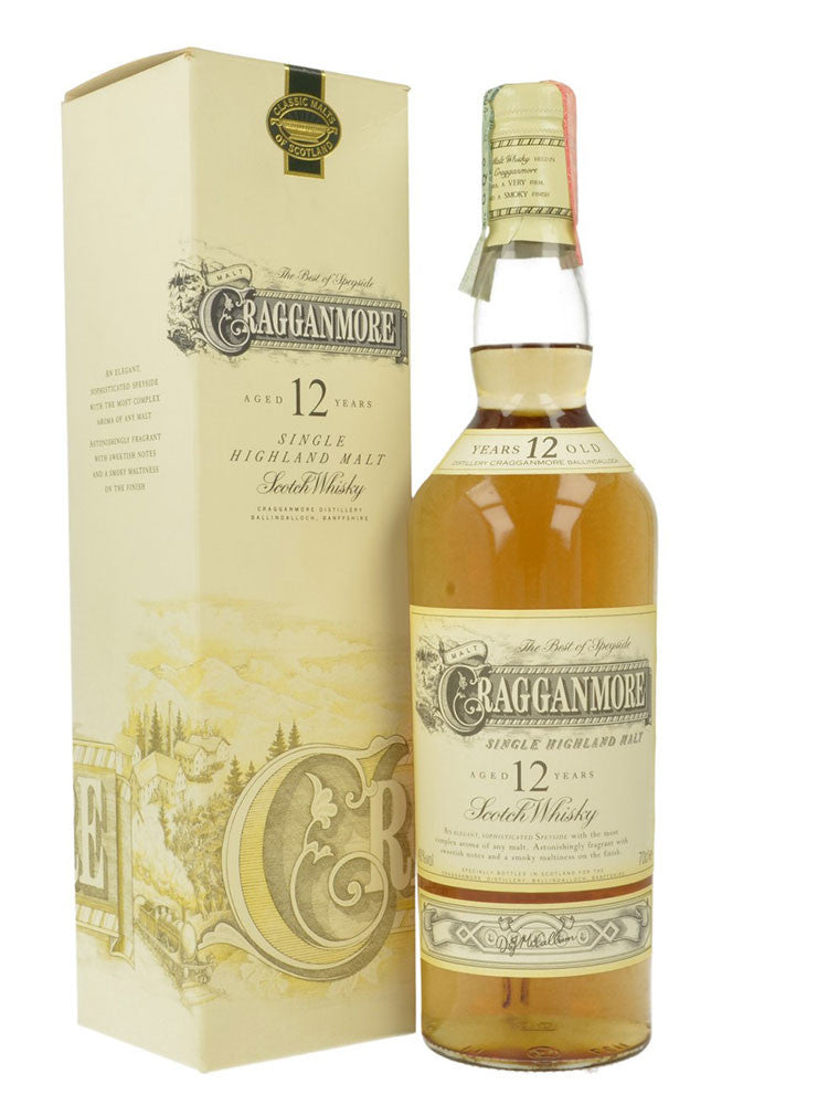 Cragganmore - 12 Year Old 70cl
