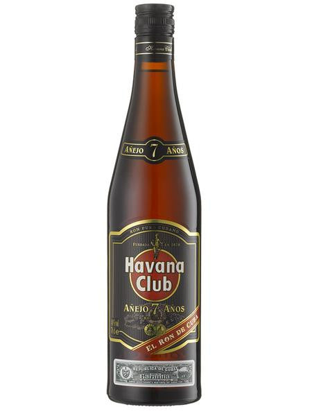 Havana Club 7YO - Cuban Dark Rum 70cl