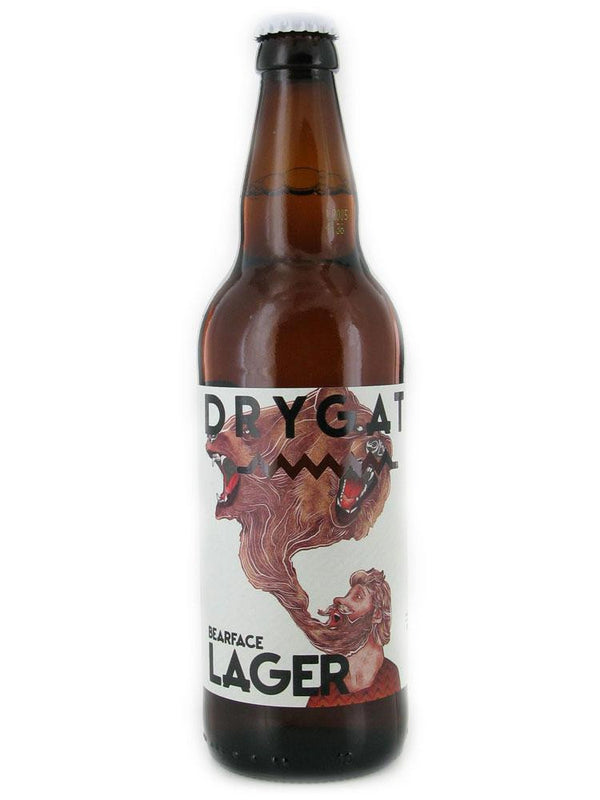 Drygate Bearface Lager 500ml