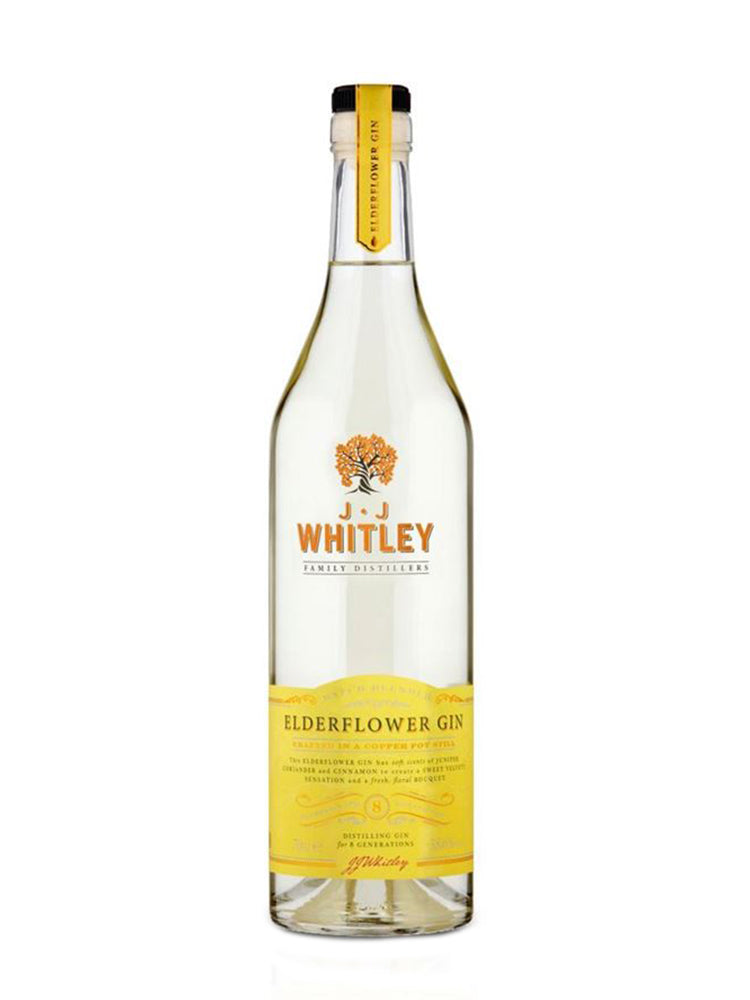 JJ Whitley - Elderflower Gin 70cl