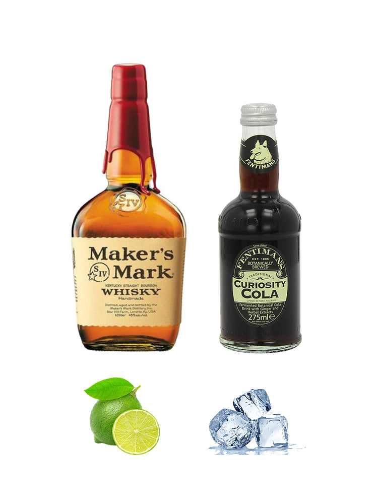 Makers Mark and Fentimans Cola Combo