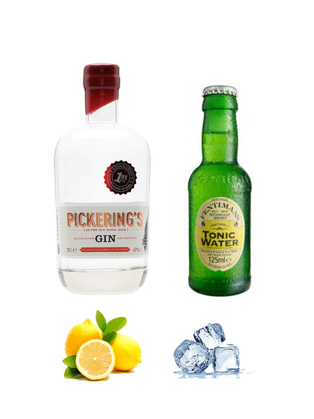 Pickerings Gin and Fentimans Tonic Combo