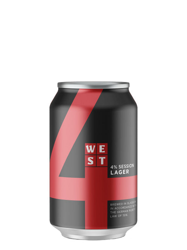West - 4 Premium Session Lager 330ml