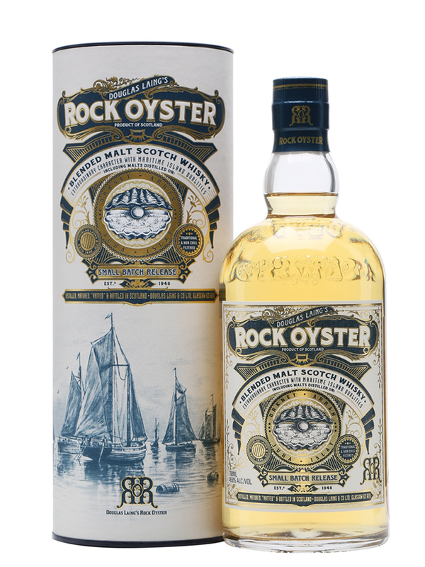 Rock Oyster - Blended Malt Whisky 70cl