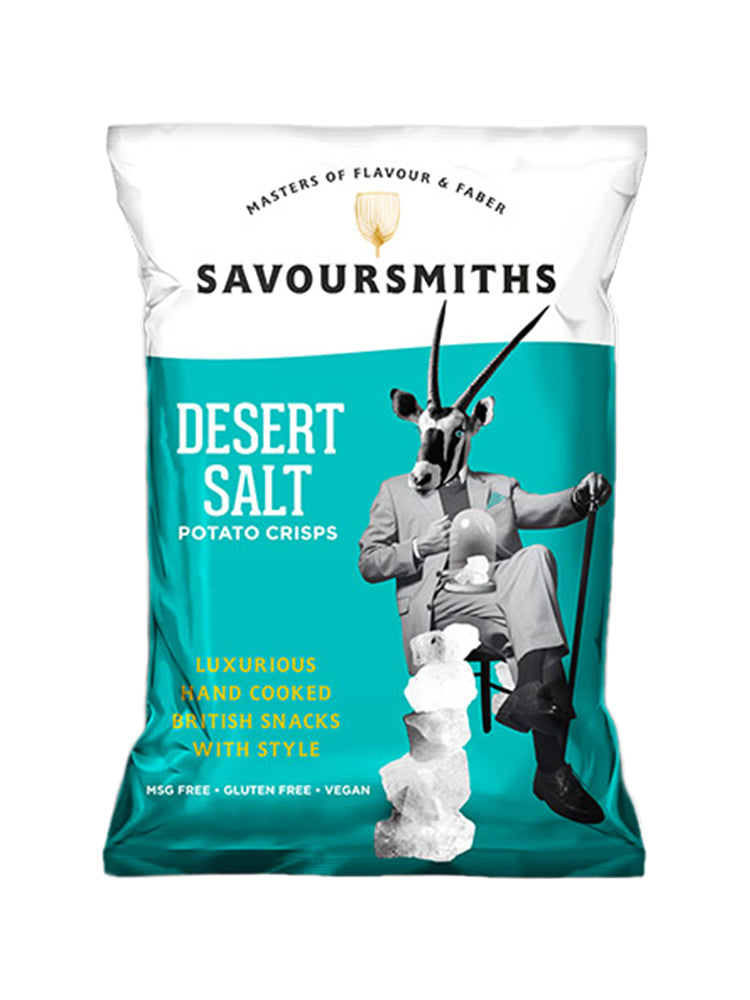 Savoursmiths - Desert Salt Potato Crisps 40g
