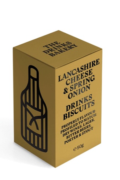 Drinks Biscuits - Lancashire Cheese & Spring Onion 48g