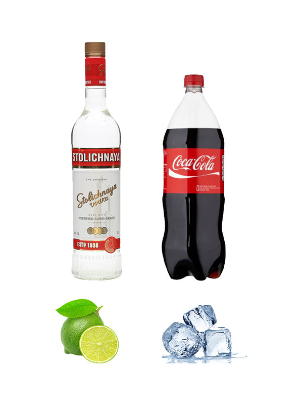Stolichnaya - Vodka and Coke Combo
