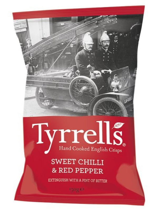 Tyrrells - Sweet Chilli & Red Pepper 150g
