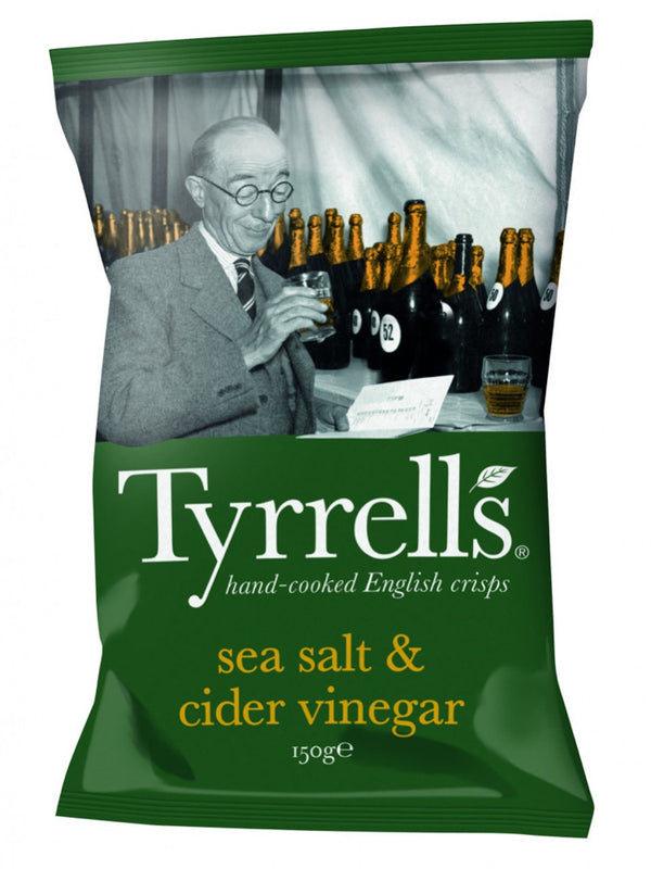 Tyrrells - Sea Salt & Cider Vinegar 150g