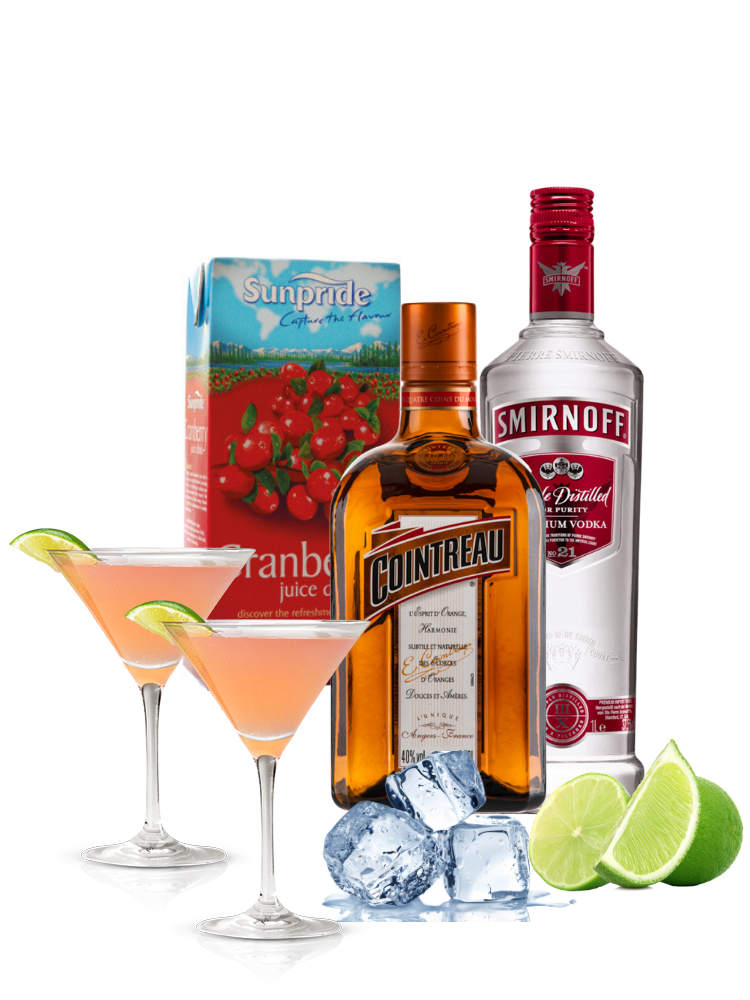 Cocktail Combo - Cosmopolitan (Makes 12)