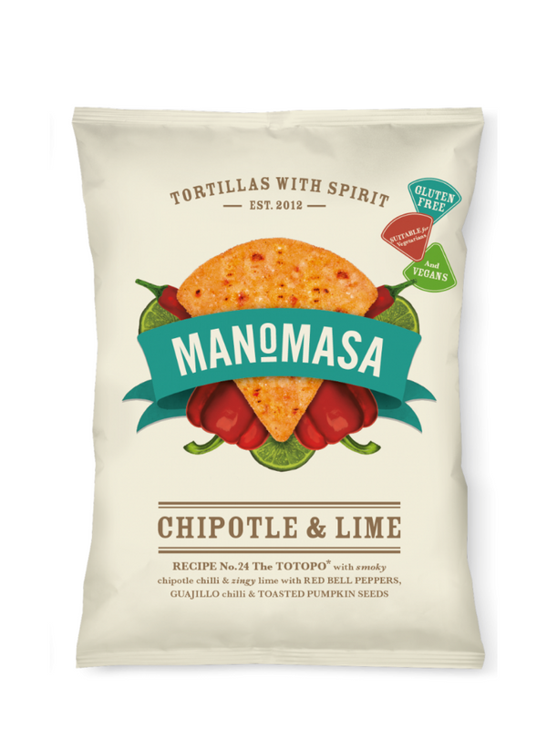 Manomasa - Tortilla Chips Chipotle & Lime 160g