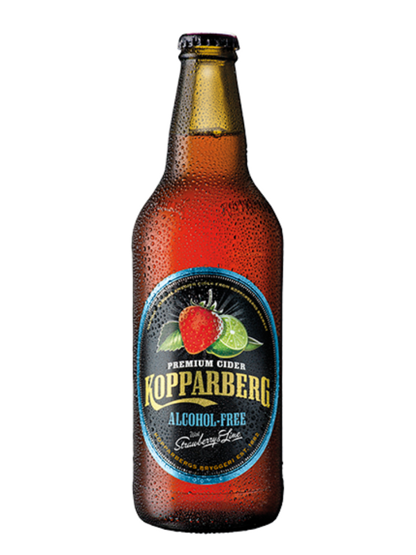 Kopparberg - Strawberry & Lime Alcohol-Free 500ml