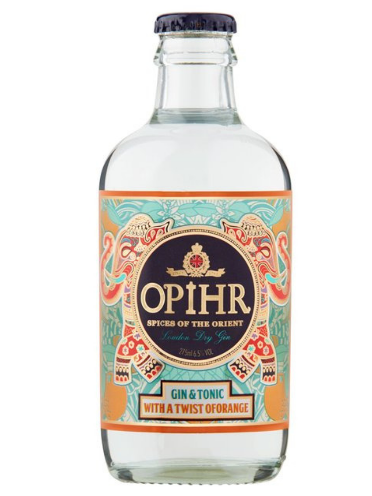Opihr -Gin & Tonic With A Dash Of Orange 275ml