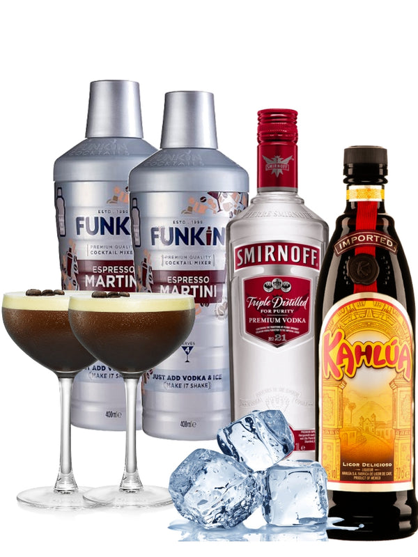 Cocktail Combo - Espresso Martini (Makes 8)