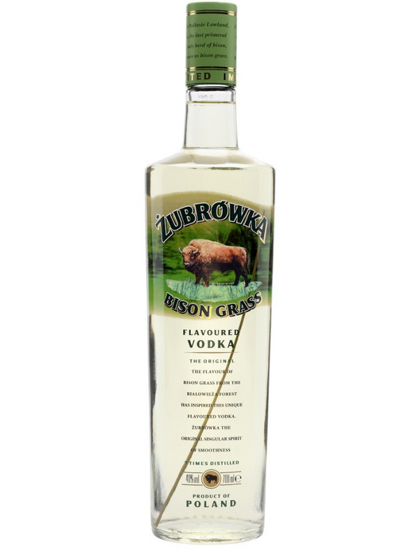 Zubrowka - Bisongrass Vodka 70cl
