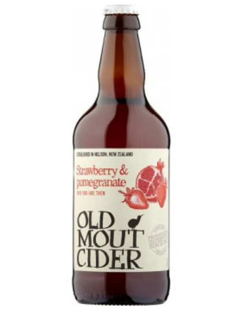 Old Mout Cider - Strawberry & Pomegranate 500ml
