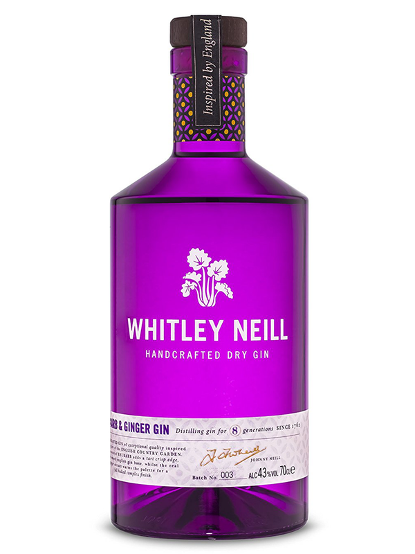 Whitley Neill - Rhubarb & Ginger Gin, 70 cl