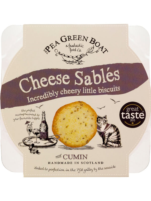 Cheese Sables - Cumin 80G