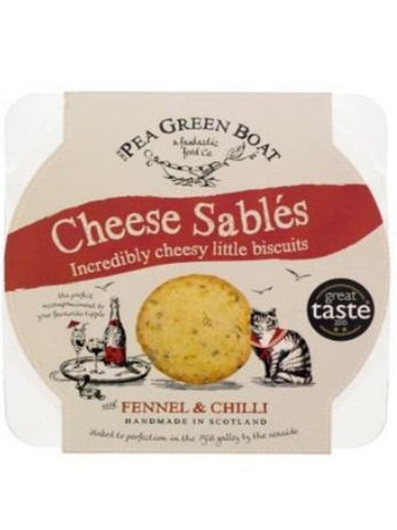 Cheese Sables - Chilli Fennel 80G