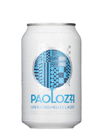 Edinburgh Beer Factory - Paolozzi Lager 330ml