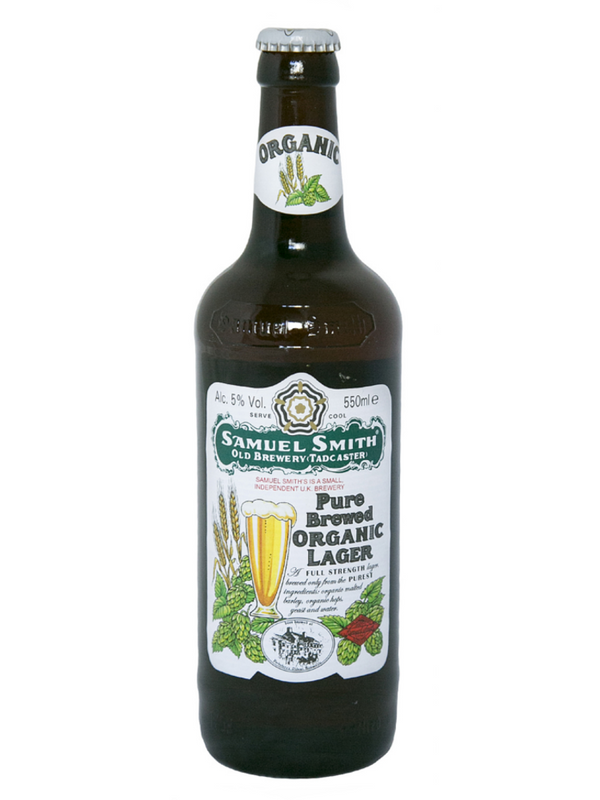 Samuel Smiths - Pure Brewed Lager Organic 550ml