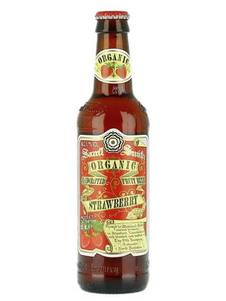 Samuel Smiths Strawberry Beer Organic 355ml